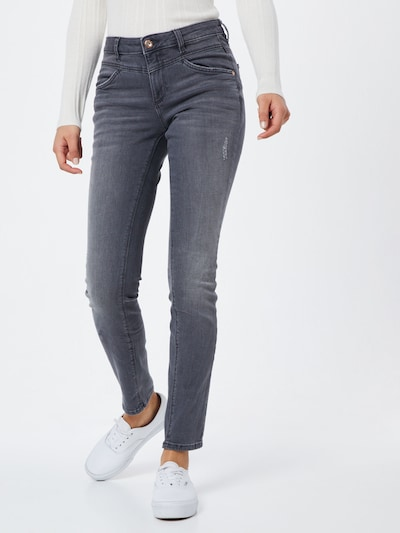 TOM TAILOR Jeans 'Alexa ' in grey denim, Modelansicht