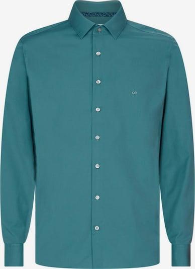 Calvin Klein Hemd in grün: Frontalansicht