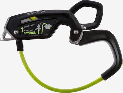 Edelrid Sicherungsgerät in neongrün / schwarz, Produktansicht