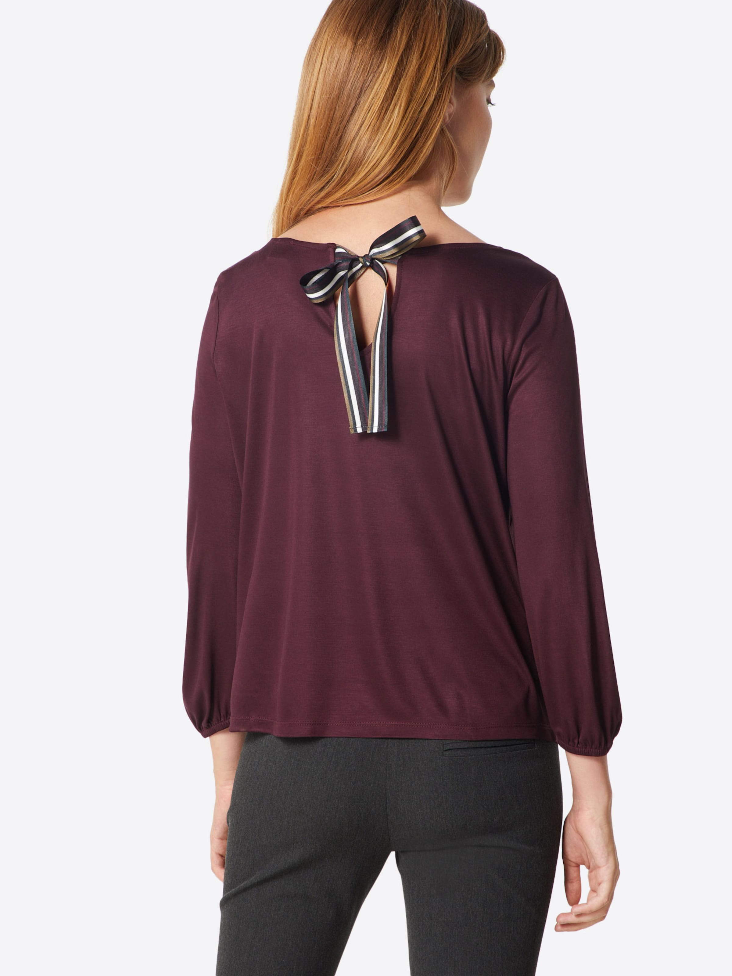 Black shirt En oliver Bourgogne Label S T mN8nvw0O