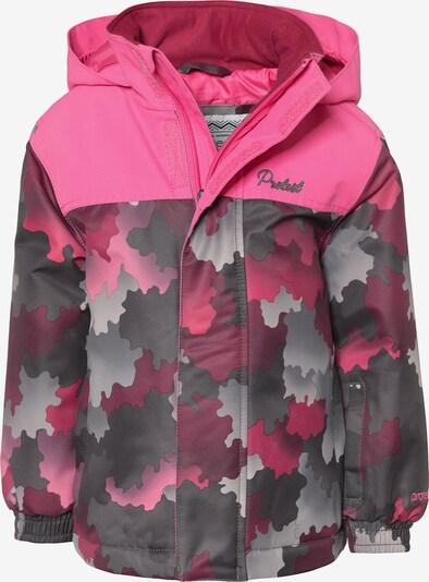 PROTEST Skijacke 'Fay' in grau / pink, Produktansicht