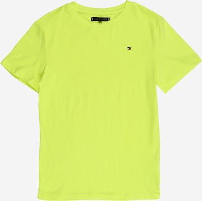 TOMMY HILFIGER Shirt 'ESSENTIAL ORIGINAL TEE S/S' in de kleur Neongeel, Productweergave