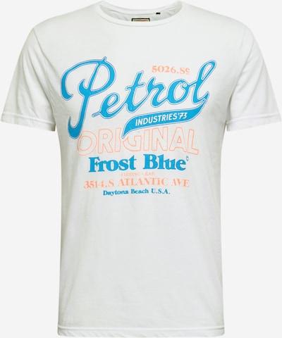 Petrol Industries Tričko - světlemodrá / světle růžová / bílá, Produkt