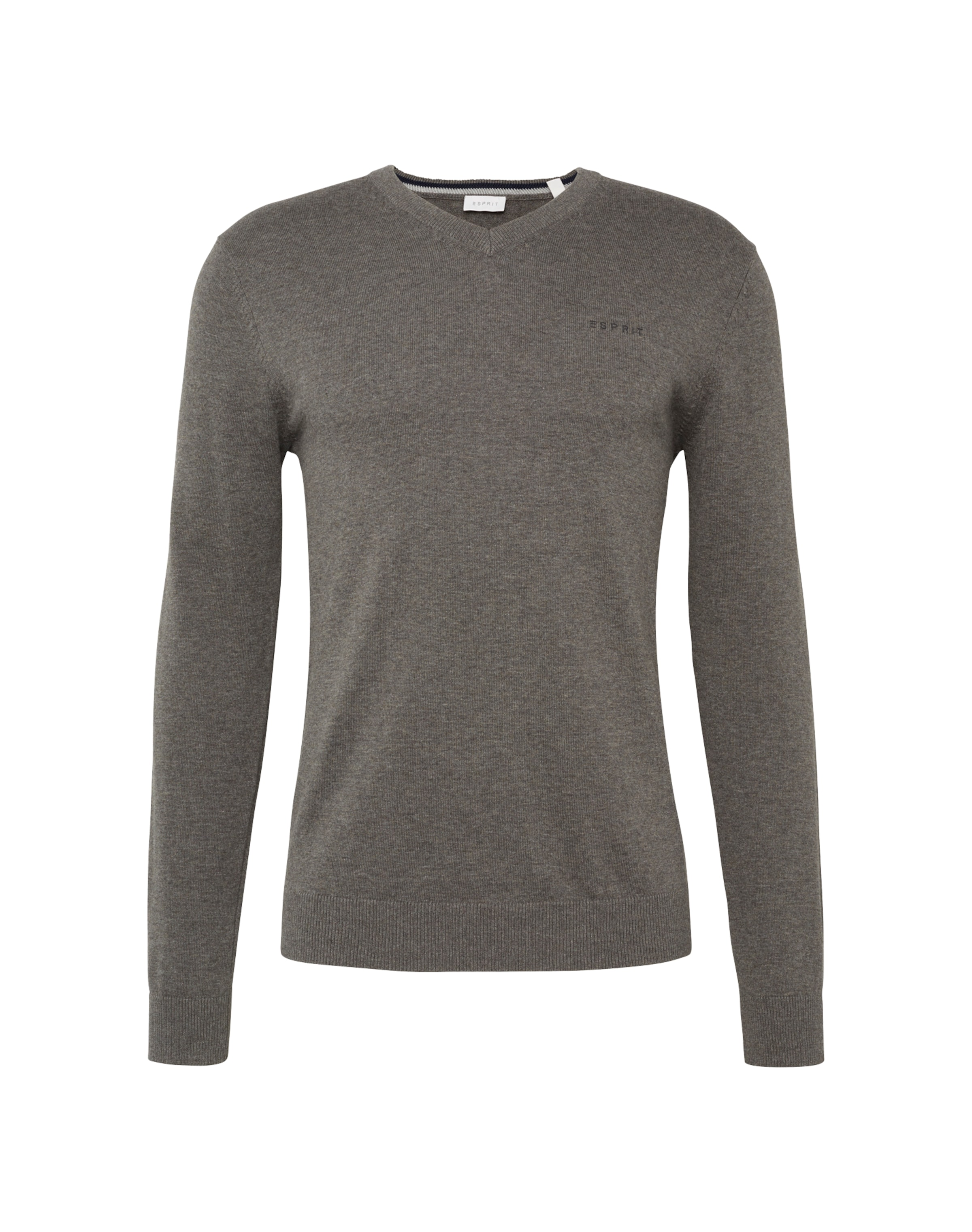 V In 'basic nk' Esprit Co Taupe Pullover nyv0ON8wm