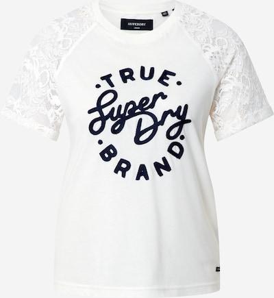 Superdry Majica u crna / bijela, Pregled proizvoda