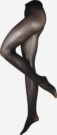 Swedish Stockings Фини чорапогащи 'Filippa' в черно / сребърно, Преглед на продукта