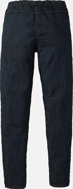 sheego denim Jeansleggings mit leichter Waschung