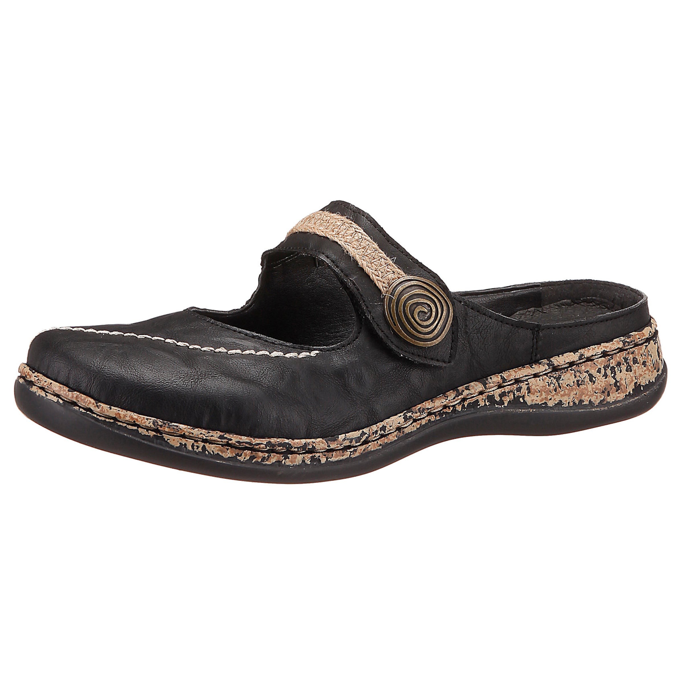 RIEKER Bequeme Pantoletten Günstige und langlebige Schuhe
