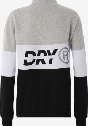 Sportinio tipo megztinis 'SPORT PUSHER CREW' iš Superdry , spalva - juoda / kiaušinio lukšto spalva: Vaizdas iš galinės pusės