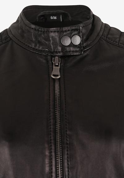 7ELEVEN Jacke 'Raffi' in schwarz: Frontalansicht