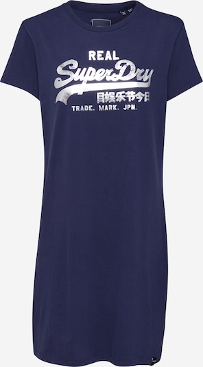 Superdry Dress in navy / silver, Item view