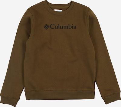 COLUMBIA Sweatshirt in oliv, Produktansicht