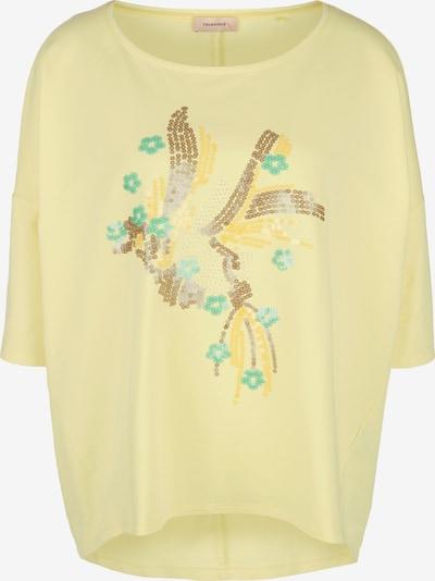 TRIANGLE Sweatshirt in türkis / gelb / gold, Produktansicht