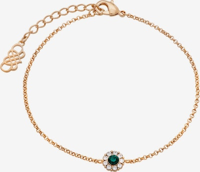 LILY AND ROSE Armband 'Petite Miss Sofia bracelet - Emerald' in gold, Produktansicht