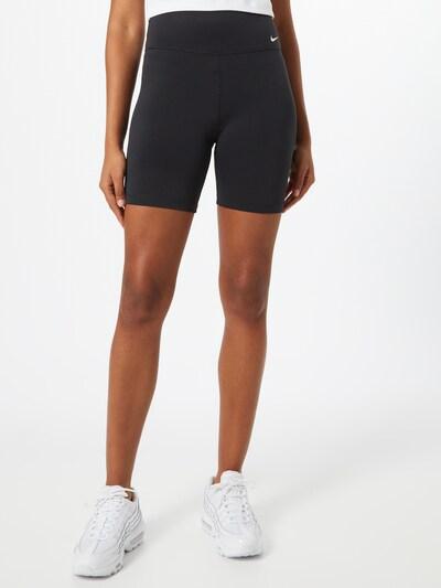 NIKE Spodnie sportowe 'One' w kolorze czarnym, Podgląd na modelu(-ce)