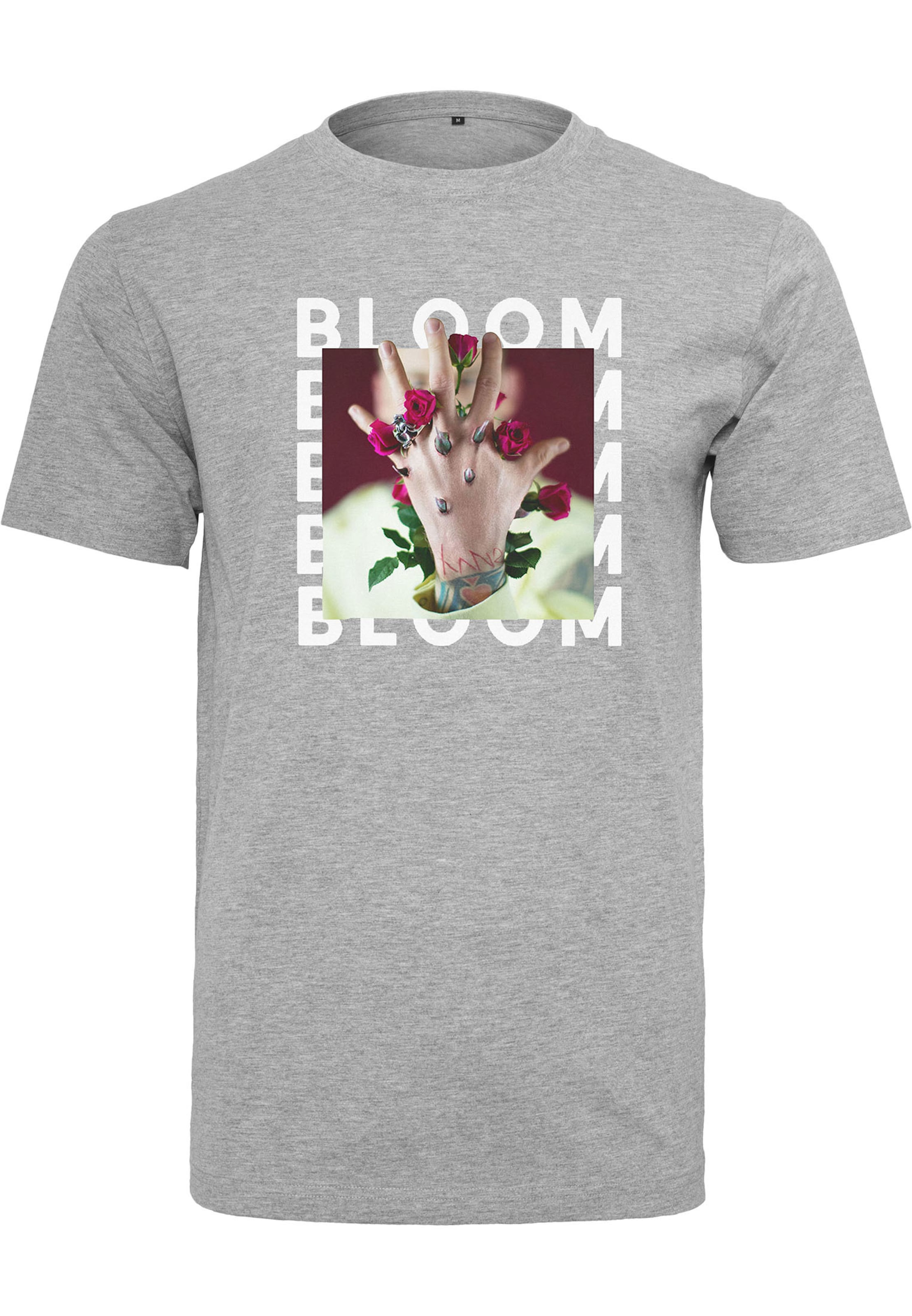 shirt 'mgk GraumeliertMischfarben In Tee Mister T Bloom' ulK5JT1cF3