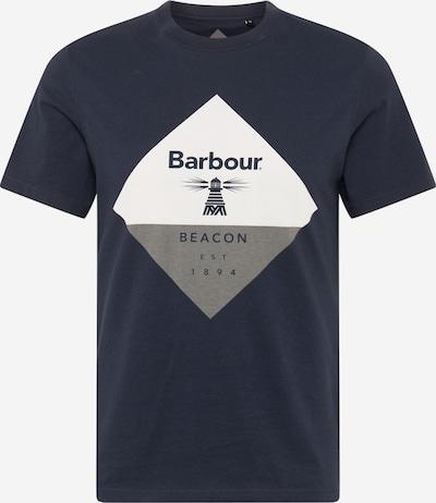 Barbour Beacon Тениска в нейви синьо / сив меланж / бяло, Преглед на продукта