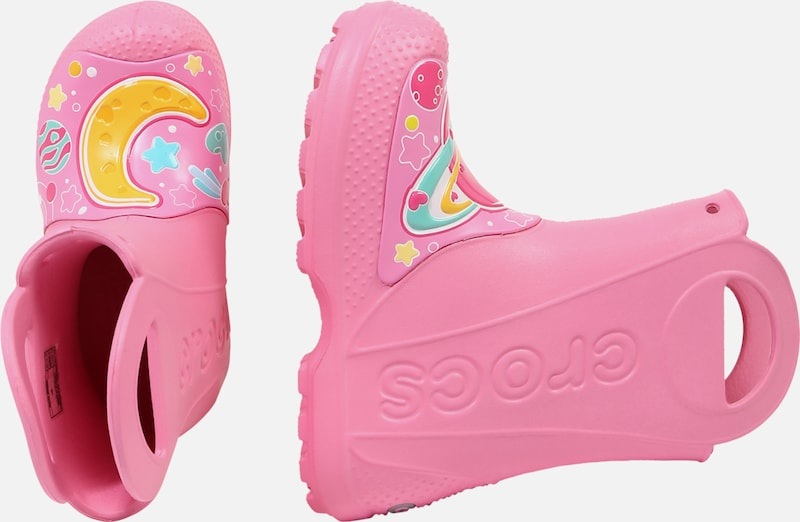 Crocs Schuhe 'Galactic Hearts' in pink | ABOUT YOU