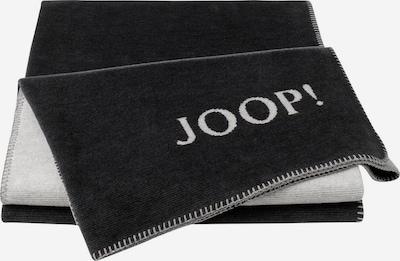 JOOP! Deken in de kleur Antraciet / Natuurwit, Productweergave