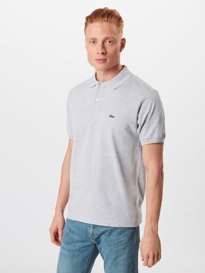 LACOSTE Poloshirt in graumeliert / grün / rot / schwarz / weiß, Produktansicht