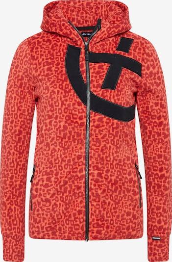 Jachetă  fleece funcțională CHIEMSEE pe roșu, Vizualizare produs