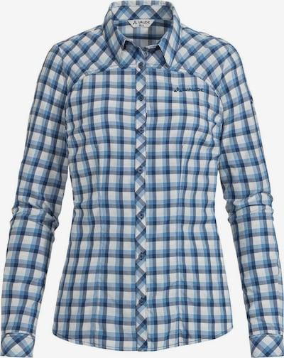 VAUDE Hemd 'Tacun LS' in enzian / himmelblau / weiß, Produktansicht