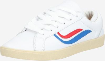 GENESIS Sneaker 'G-Helà Tumbled' in blau / rot / weiß, Produktansicht