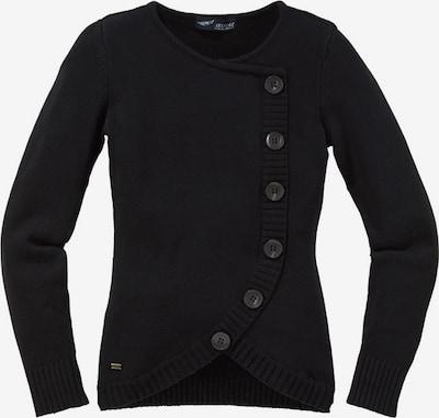 ARIZONA Pullover in dunkelgrau / schwarz, Produktansicht