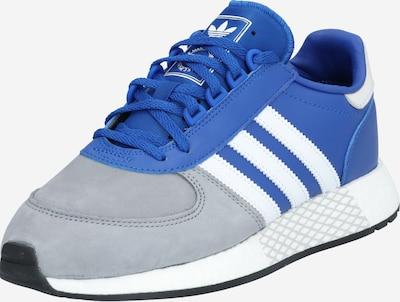 Sportbačiai be auliuko 'MARATHON TECH' iš ADIDAS ORIGINALS , spalva - mėlyna / pilka / balta, Prekių apžvalga
