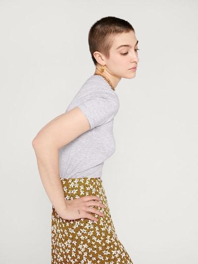 EDITED Koszulka 'Leila' w kolorze nakrapiany szarym: Widok od tyłu