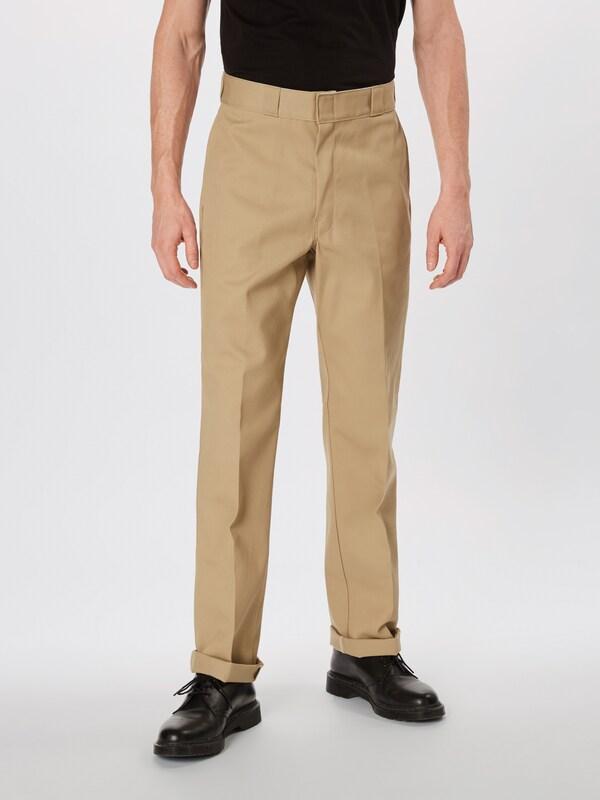 À Plis Beige Pantalon Dickies En nPk0wN8OXZ