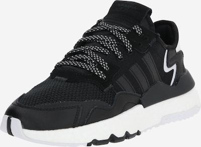 ADIDAS ORIGINALS Sneaker 'NITE JOGGER J' in schwarz / weiß, Produktansicht