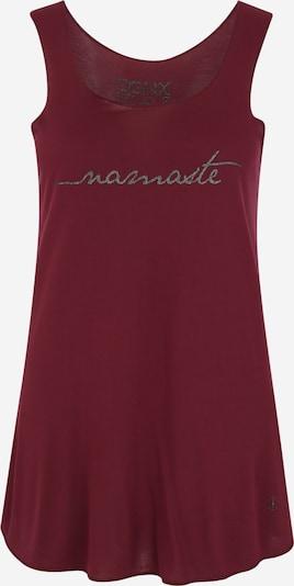 OGNX Športový top 'Namaste' - vínovo červená / čierna, Produkt