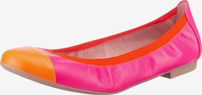 PRETTY BALLERINAS Ballerina in orange / dunkelpink / grenadine, Produktansicht