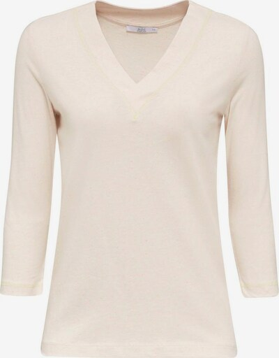 EDC BY ESPRIT Shirt in gelb / pink / weißmeliert, Produktansicht