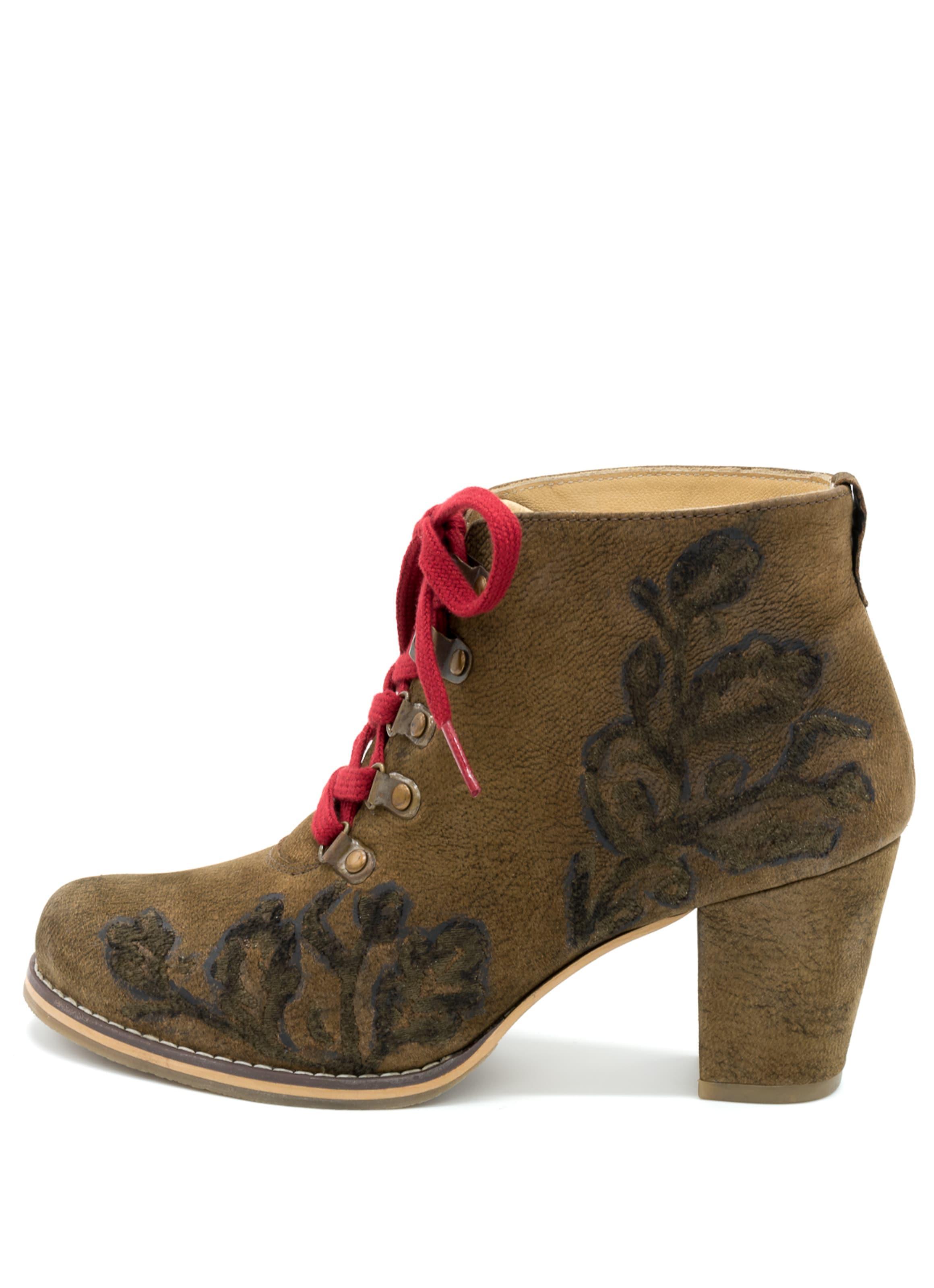 SPIETH & WENSKY | | WENSKY Stiefel 'Ignatia' Schuhe Gut getragene Schuhe b23829