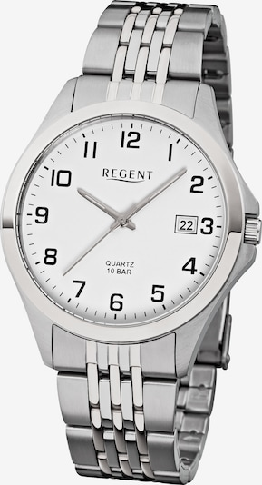 REGENT Uhr '11150569' in silber / weiß, Produktansicht