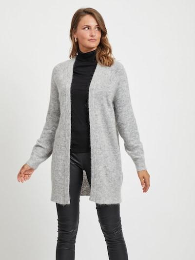 OBJECT Strickjacke in grau, Modelansicht