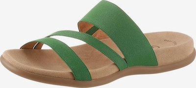 GABOR Pantolette in grasgrün, Produktansicht