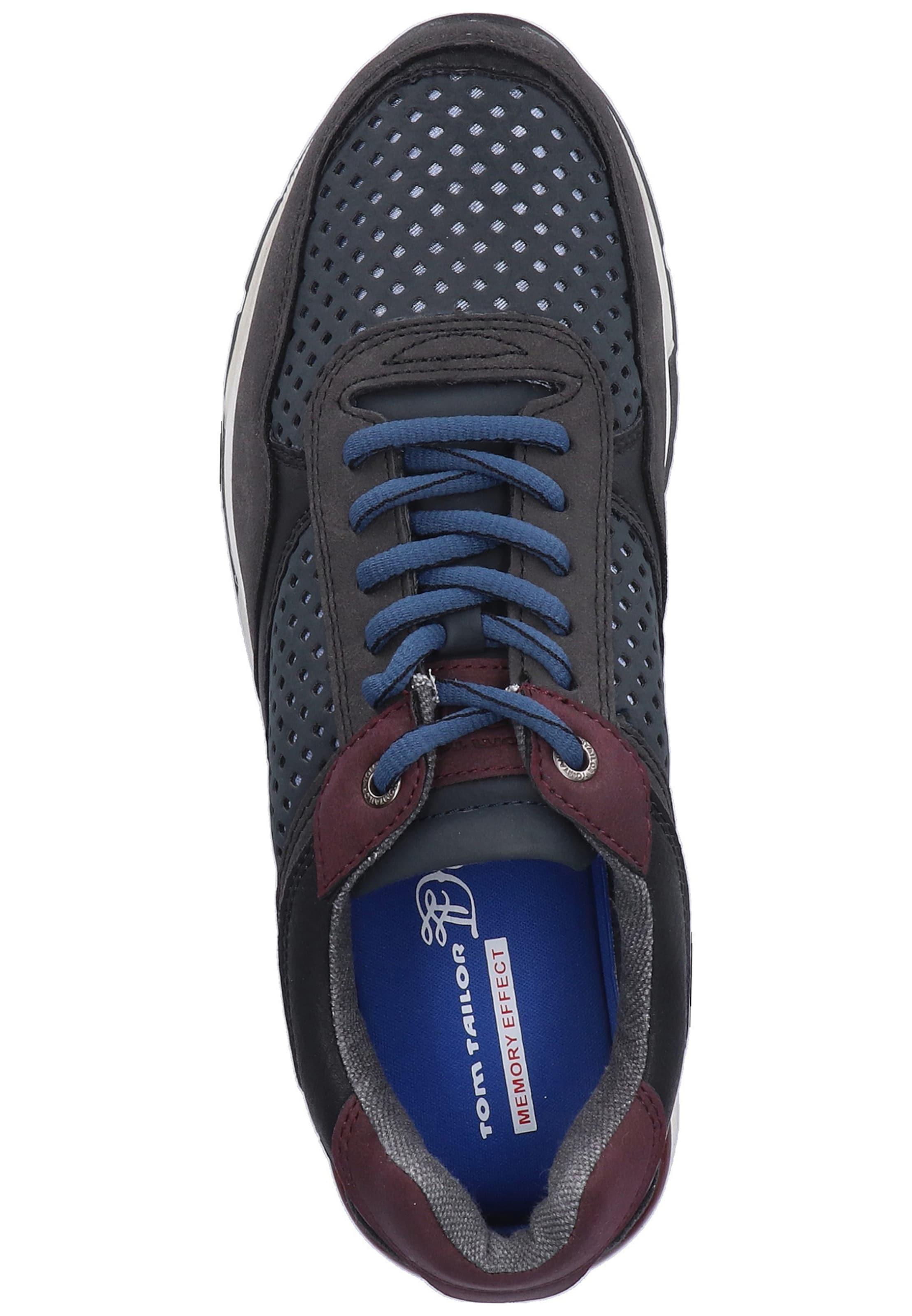 In Tom Tailor Sneaker NachtblauBeere Schwarz BCxWQrdoeE