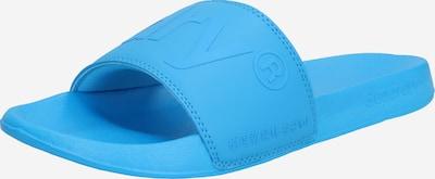Superdry Slipper 'CITY NEON POOL SLIDE' in blau, Produktansicht