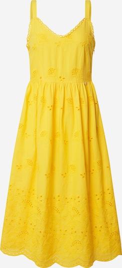 Rich & Royal Šaty - žlutá: Pohled zepředu