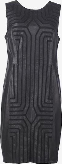 Maze Lederkleid in schwarz, Produktansicht