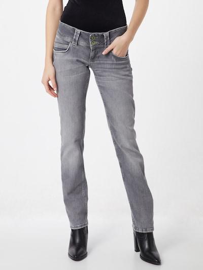 Pepe Jeans Jean 'Venus' en gris denim, Vue avec modèle
