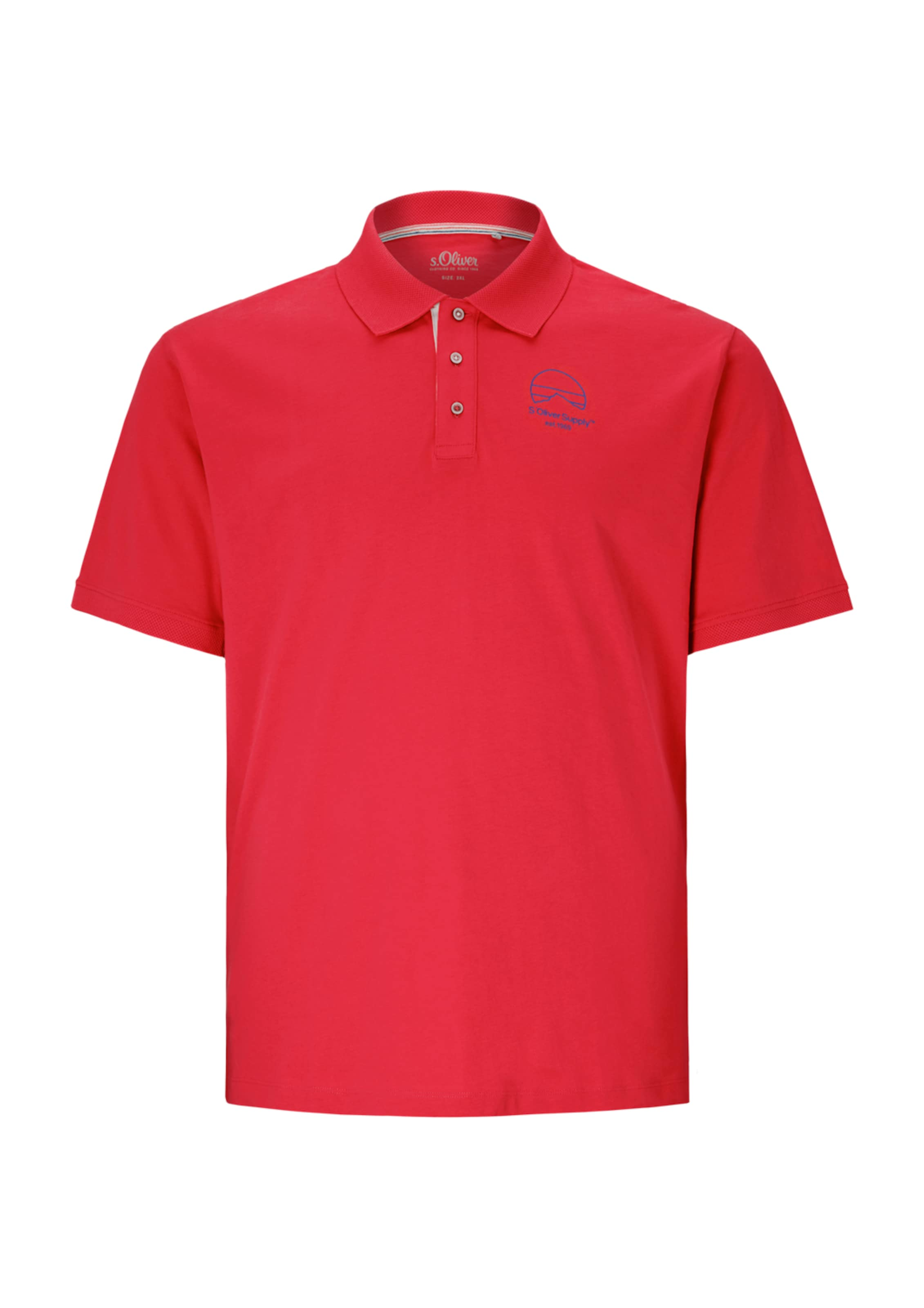 oliver Rot Red Shirt S Label In thrdsQ