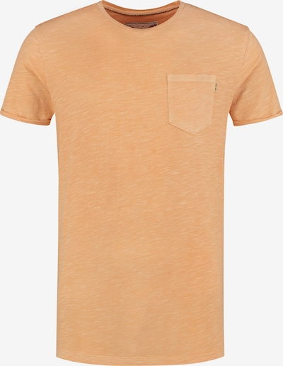 Shiwi Shirt `Slub´ in orange, Produktansicht
