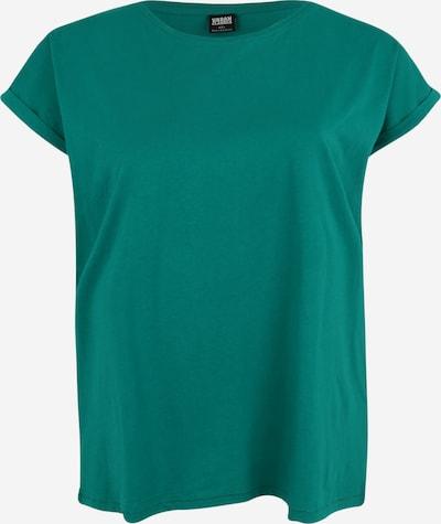 Urban Classics Curvy Shirt in petrol, Produktansicht
