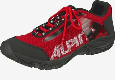 Alpina Trekkingschuh 'Jack' in rot / schwarz, Produktansicht