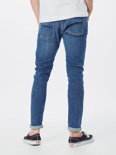 Nudie Jeans Co Jeans in de kleur Blauw denim: Achteraanzicht