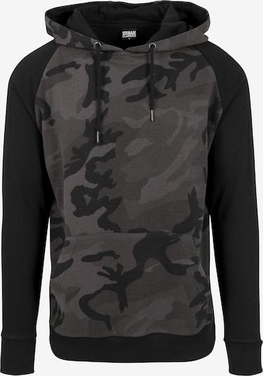 Urban Classics Sweat-shirt en camel / gris foncé / kaki / vert foncé / noir, Vue avec produit